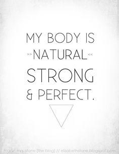 My body rocks!