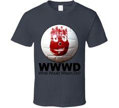 Wilson Castaway Volleyball Funny T Shirt