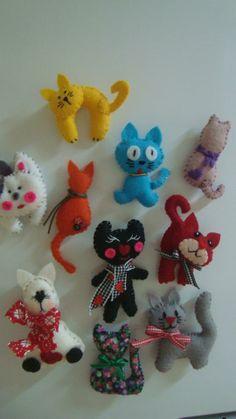 imãs de gatinhos