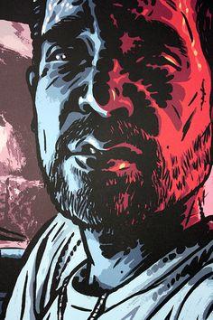 Poster Illustration Carhartt Ads Guarni by BenjaminGuedelShop