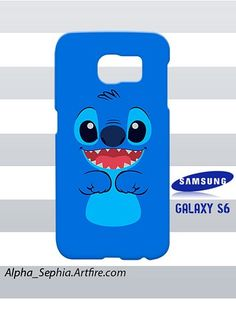Stitch Face Samsung Galaxy S6 Case Cover Hardshell