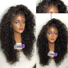 Brazilian soft curly full/front lace wig Human Hair baby hair bleached knots | Health & Beauty, Hair Care & Styling, Hair Extensions & Wigs | eBay!