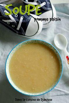 MA soupe pomme raisin dès 6/7 mois