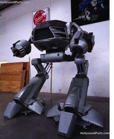 10 foot ED209 model from RoboCop 2 storms eBay