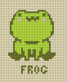 Pixel Art Templates, Perler Bead Templates, Diy Perler Beads, Perler Bead Art, Pixel Pattern, Pattern Art, Cross Stitch Designs, Cross Stitch Patterns, Kawaii Cross Stitch