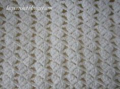 So many people keep asking me to write the pattern for the lacy baby blanket  that I shared on my blog last year. However, I am not a...