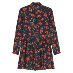 POPPIUM Buttoned Through Dress - French Navy  Was £325, now £195 http://www.houseofhackney.com/sale/poppium-button-through-short-dress-navy.html