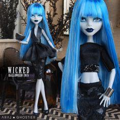 Monster+Doll+Halloween+Wicked+Black+Dress+Set+от+AralGhostier