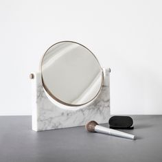 Pepe Marble Mirror - could someone make one for powder room???