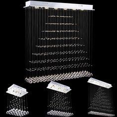 Find More Chandeliers Information About VALLKIN Modern LED Ceiling Crystal Lights For Living Room Dining