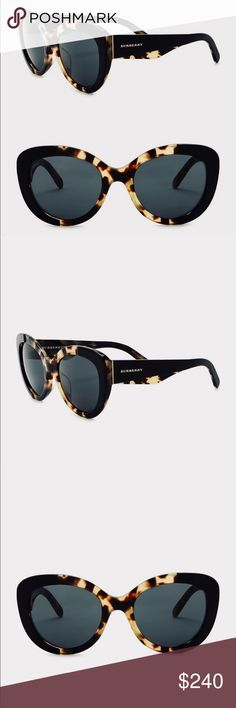41eda539a139 Sophisticated Burberry Sunglasses Gawjus Round slight cat eye Authentic  Burberry sunglasses. REAT YOURSELF FOR A CHANGE!!!! Measurement:  54-21-140mm ...