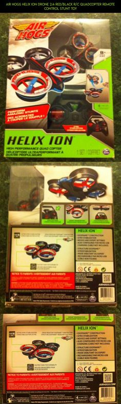 Air Hogs Helix Ion Drone 2.4 Red/Black R/C Quadcopter Remote Control Stunt Toy #fpv #camera #shopping #products #quadcopter #gadgets #parts #technology #racing #hogs #air #tech #drone #plans #kit