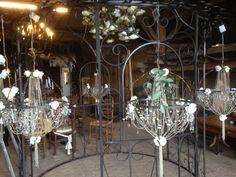 Trouwdecoratie op het Hoogh Huys