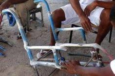 Bicicletas velhas viram cadeiras de rodas em presídio do DF - http://noticiasembrasilia.com.br/noticias-distrito-federal-cidade-brasilia/2014/07/19/bicicletas-velhas-viram-cadeiras-de-rodas-em-presidio-do-df/