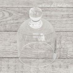 Glashaube für Tortenplatte klein