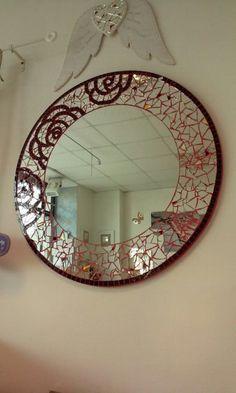 ROSES artistic mosaic Mirror