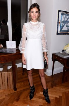 Алекса Чанг на вечере в честь выхода книги Vogue — Voice of a Century в Нью-Йорке