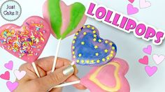 Valentine's Day Lollipops! How to make lollipops