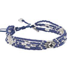 Sante Fe Adjustable Blue Bracelet - Chan Luu