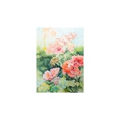 Pin de Linda Virio em My Watercolour Paintings   Pinterest ❤ liked on Polyvore featuring home, home decor, wall art, watercolour painting, water color painting, water colour painting, watercolor wall art and watercolor painting