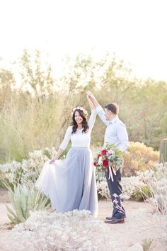 This Four Seasons Resort Scottsdale at Troon North, engagement sessions is one of the most dreamy we've ever captured! The flower crown, bouquet and furniture rentals were the perfect touches to their romantic fairytale shoot!!!