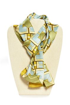 The newest silk scarf from the MOMA collection has arrived at the Shop at AGH. They are selling fast, try one on today! #shopatagh
