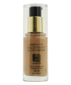 Soft Honey Facefinity All-Day Flawless 3-In-1 Foundation by Max Factor #zulily #zulilyfinds