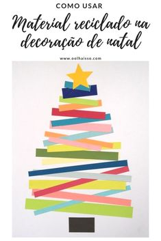 weihnachtskarten basteln tanne farbiges papier streifen // christmas cards - christmas tree with coloured paper stripes Christmas Activities, Christmas Crafts For Kids, A Christmas Story, Kids Christmas, Holiday Crafts, Christmas Trees, Family Crafts, Easy Crafts For Kids, 242