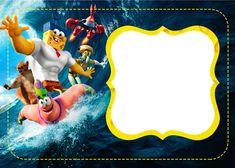 bob esponja - um herói fora d'água - kit festa infantil!