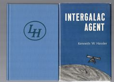 Intergalac Agent by Kenneth W. Hassler  Lenox Hill Press Vintage Science Fiction