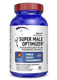 Super Male Optimizer Multivitamin Testosterone Booster Supplement with Ashwagandha  Sports Nutrition Supplement With Herbals Trace Minerals Like Boron Zinc and Withania Somnifera *** Be sure to check out this awesome product.  This link participates in Amazon Service LLC Associates Program, a program designed to let participant earn advertising fees by advertising and linking to Amazon.com.