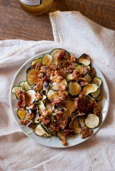 Zucchini Nachos- I l