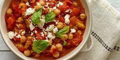 Stewed Tomato Chickpeas