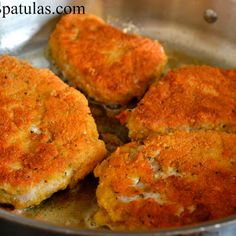 Parmesan Crusted Pork Chops Recipe - Key Ingredient