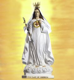 Nuestra Señora de América / 26 de Septiembre / Año: 1956 / Lugar: Indiana, EEUU / Apariciones de la Virgen a la Hna. María Ephren (Mildred Neuzil) (†…1972).