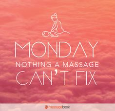 There's only one thing that can cure Mondayitis!