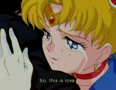 Image about anime in Sailor❤Moon by Fℓσя ஐ on We Heart It Arte Sailor Moon, Sailor Saturn, Sailor Mars, Sailor Moon Aesthetic, Aesthetic Anime, Moe Manga, Manga Anime, Sailor Scouts, Sailor Moon Quotes