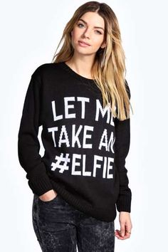 Nessa Let Me Take An #Elifie Jumper at boohoo.com