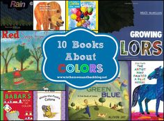 To the Moon and Back: 10 Books About Colors Kindergarten Colors, Preschool Colors, Teaching Colors, Preschool Learning Activities, Color Activities, Language Activities, Coloring For Kids, Coloring Books, Summer Camp Themes