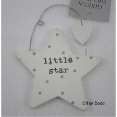 White Star Nursery Decoration by Gisela Graham