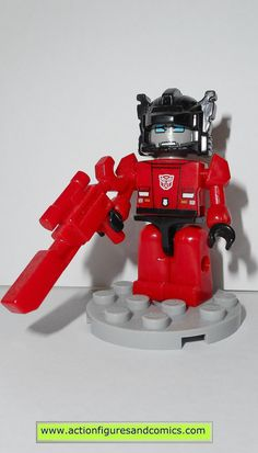 transformers kre-o SIDESWIPE kreon kreo lego action figures hasbro toys