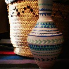 Ramadan, Folk Art, Pottery, Vase, Drawings, Home Decor, Ceramica, Homemade Home Decor, Decoration Home