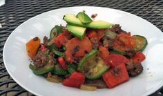 Healthy Taco Scramble One-Pan Recipe (paleo, primal)