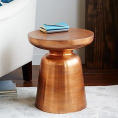 Martini Side Table - Copper