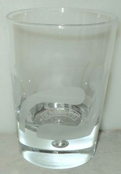 Baileys Irish Cream Swirl Bubble Etched Glass Bar Barware  ~ This Item is for sale at LB General Store http://stores.ebay.com/LB-General-Store ~Free Domestic Shipping ~