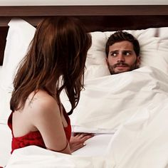 """""""What is it,"""" I say. """"You're dad,"""" He whispers. """"What about him,"""" I ask. """"He's probably listening,"""" He says. """"He's sleeping,"""" I tell him. I go to move the covers off of him but he catches them and pulls them up to his chin. """"Are you serious,"""" I ask him and he nods. """"Trust me he's watching us,"""" he whispers as he looks around paranoid. """"I can feel it."""" """"Christian,"""" I say eyeing him. """"You didn't get the brownies in the special container did you?"""""""