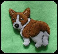 Corgi-Pembroke Welsh Corgi ornament-plus by justsue on Etsy
