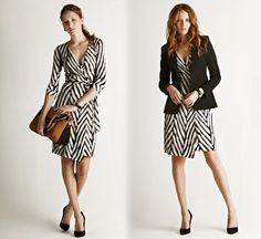 It should be so much easier to find wrap dresses. They look good on every woman!