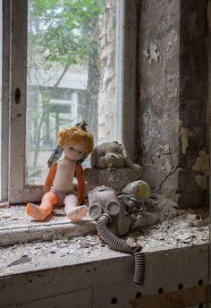 Cidade abandonada de Pripyat , na UcrâniaCompletamente parada, esta cidade tinha uma população de quase 50 mil pesoas antes de ser evacuado logo após o acidente nuclear de ChernobylCurta a página do Hora 7 no Facebook e leia mais notícias macabras