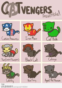 Avenger Kitties!!!